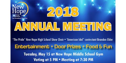 NHTC 2018 Annual Meeting, New Hope, Alabama