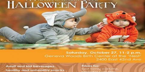 A 'Frighteningly Cute' Halloween Party!, Anchorage, Alaska