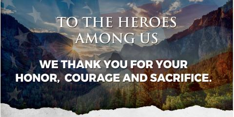 Thank you for your Service & Business, Oakhurst, California