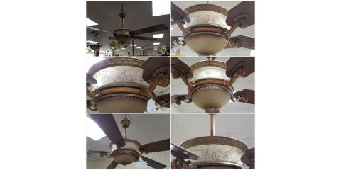 Elegant ceiling fan for sale, St. Charles, Missouri