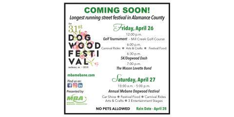 mebane dogwood festival 2020