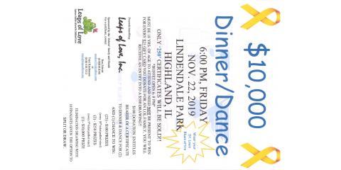 $10,000 Dinner Dance - Let's Go Blues, Highland, Illinois