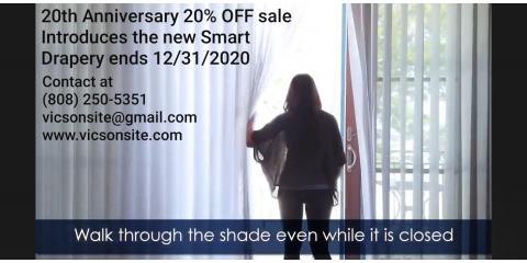 20th Year Anniversary 20% OFF sale has been extended , Maui County, Hawaii