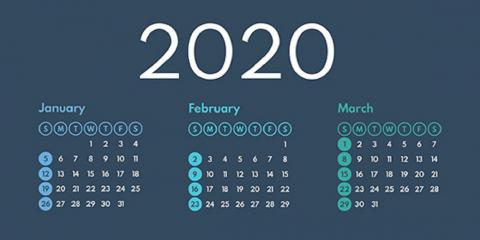 2020 Q1 Tax Calendar: Key Deadlines For Businesses and Other Employers, Mountain Home, Arkansas