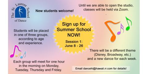 How Dance Can Add to Your Child's Summer, Honolulu, Hawaii