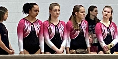 Gymnastics - Great Miami Valley YMCA, Hamilton, Ohio