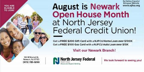 North Jersey Federal Credit Union, Credit Unions, Finance, Totowa, New Jersey