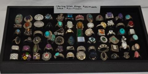 Sterling Silver Rings Sale! $20.00 Each  , Greece, New York