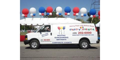 PARTY FIESTA BALLOON DECOR Says, Party Hearty on Fat Tuesday (February 17)! It's Magical Mardi Gras!, San Jose, California