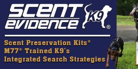 Scent Evidence K9, Investigation Services, Services, Tallahassee, Florida