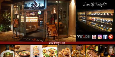 TR Fire Grill, American Restaurants, Restaurants and Food, Honolulu, Hawaii