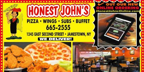 Honest John's Pizzeria, Restaurants, Restaurants and Food, Jamestown, New York