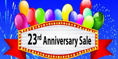 EyeCare One 23rd Anniversary Sale!, West Chester, Ohio