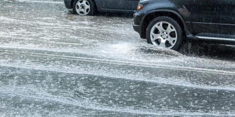 Tips for Safe Driving During a Heavy Rain, Thomasville, North Carolina