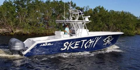 2018 35' SeaHunter 35 Tournament Center Console Fishing Machine
