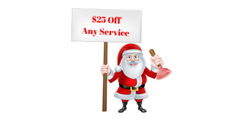 $25 Off Any Service From Your Local Plumber, Mebane, North Carolina