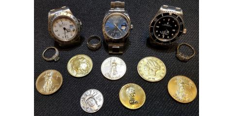 Gold, Diamonds, Rolex's, and Jewelry, Groesbeck, Ohio