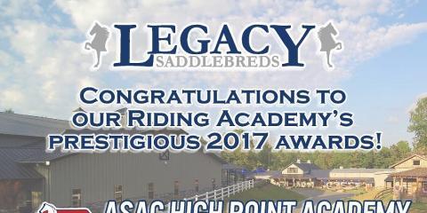 Legacy Saddlebreds LLC, Horseback Riding & Lessons, Services, Winston Salem, North Carolina