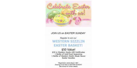 Easter Buffet, Russellville, Arkansas