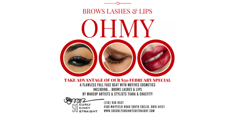 Brows . Lashes & Lips...OH MY!, South Euclid, Ohio