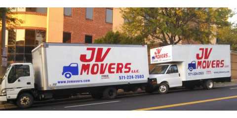 JV Movers LLC, Movers, Services, Alexandria, Virginia