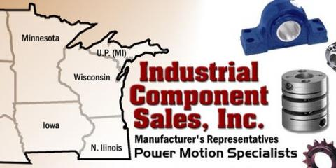 Industrial Component Sales, Inc., Industrial Equipment, Services, Delavan, Wisconsin
