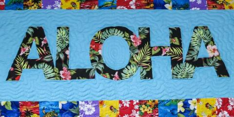 Make Your Gifts Convenient & Personal With Quilt Kits From The Maui Quilt Shop, Kihei, Hawaii