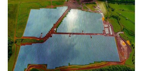 Inside the #Tesla #solarenergy Farm, Tipp City, Ohio