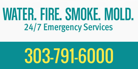 Don't Wait to Call ServiceMaster Fire and Water Restoration After a Flood or Fire, Englewood, Colorado