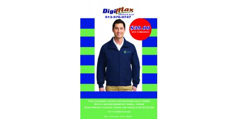 Charger Jacket with Embroidery on SALE NOW!, Milford, Ohio