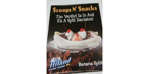 Scoops N Snacks Opens Friday April 8, 2016, Bourbon, Missouri