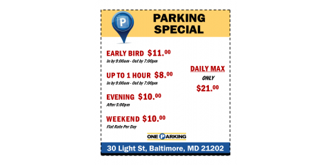 Baltimore Parking Special, Baltimore, Maryland