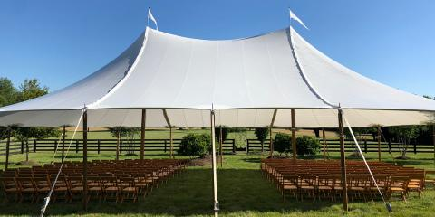 Top 5 Items To Include When Booking Tent Rentals for an Event, Lexington-Fayette, Kentucky