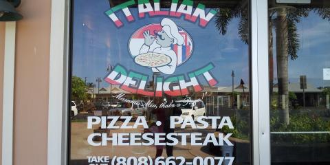 Italian Delight, Pizza, Restaurants and Food, Lahaina, Hawaii