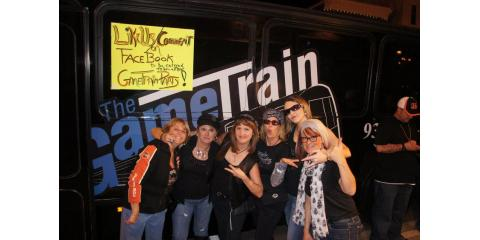 The Game Train Party Bus, Party Bus Charters, Services, Dayton, Ohio