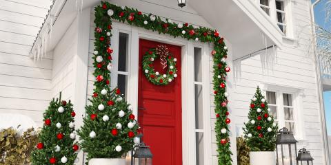 3 Creative Ways to Decorate Your Front Door for the Holiday Season , Norwood, Ohio