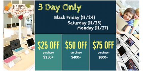 3 Day Only Sale - Apple® Products, Canton, Ohio