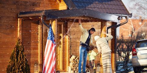 How to Decorate Your Home Exterior Safely for the Holidays, Savage, Minnesota
