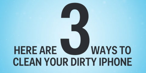 How to clean your iPhone, Washington, Ohio