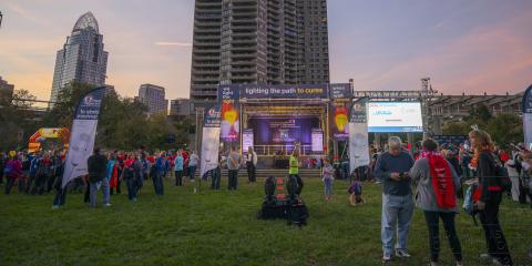 Join Us for the Leukemia & Lymphoma Society Light the Night Walk, Cincinnati, Ohio
