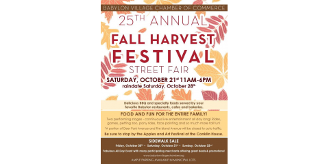 Babylon Village Fall Harvest Festival, Babylon, New York