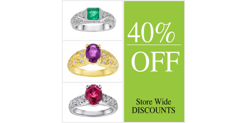 40% OFF Gemstone Rings, South Nyack, New York