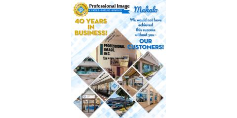 Professional Image is Turning 40!, Honolulu, Hawaii