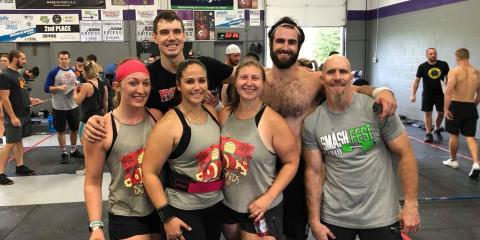 Pilar Mavron -- Bombers CrossFit Member Spotlight, Beavercreek, Ohio