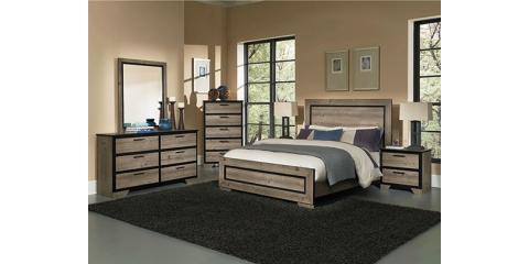 5 PIECE BEDROOM SET-GREYSON BY PERDUE-$690, Maryland Heights, Missouri