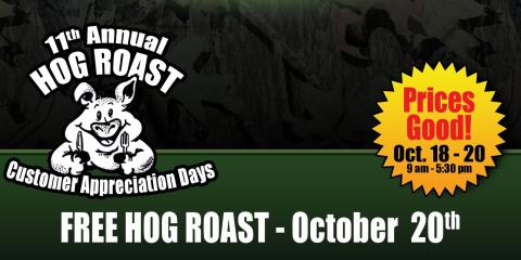 Don't Miss Out 11th Annual FREE Hog Roast, Carrollton, Kentucky