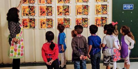 The Benefits of Art Classes at School, San Marcos, Texas