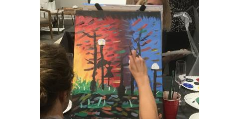 3 Reasons to Make Your Next Get-Together a Wine Painting Party, ,