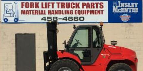 Just in: New Manitou M50-4 4x4 Forklift, Rochester, New York
