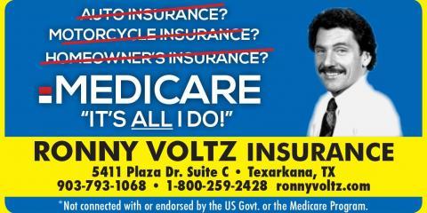 Ronny Voltz Insurance, Insurance Agencies, Services, Texarkana, Texas